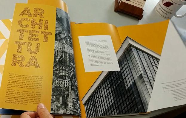 Volume con inserti speciali stampato e allestito da Legatoria Rumori