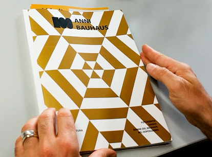 stampa con inchiostro speciale oro - Legatoria Rumori